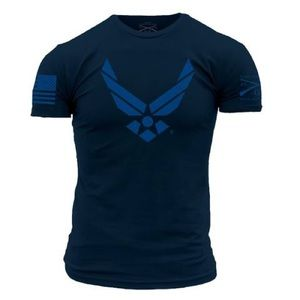 NEW! Licensed Air Force Grunt Style Tee w/Insignia
